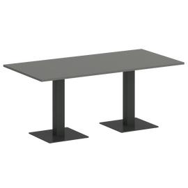 Стол прямоугольный  Home Office Riva VR.SP-5-180.2 Металлик / Антрацит мет. 1800х900х750