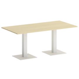 Стол прямоугольный  Home Office Riva VR.SP-5-180.2 Клен / Белый мет. 1800х900х750 [CLONE]
