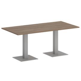 Стол прямоугольный Home Office Riva VR.SP-5-180.2 Дуб Аризона / Серый мет. 1800х900х750