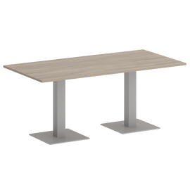 Стол прямоугольный Home Office Riva VR.SP-5-180.2 Дуб Аттик / Серый мет. 1800х900х750
