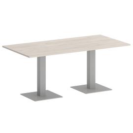 Стол прямоугольный Home Office Riva VR.SP-5-180.2 Денвер Светлый / Серый мет. 1800х900х750