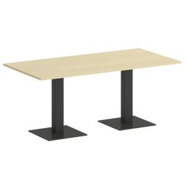 Стол прямоугольный  Home Office Riva VR.SP-5-180.2 Клен / Антрацит мет. 1800х900х750