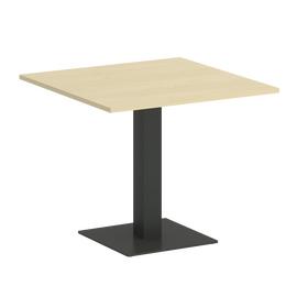 Стол квадратный Home Office Riva VR.SP-5-90.2 Клен / Антрацит мет. 900*900*750