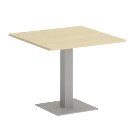 Стол квадратный Home Office Riva VR.SP-5-90.2 Клен / Серый мет.900*900*750