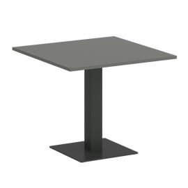 Стол квадратный Home Office Riva VR.SP-5-90.2 Металлик / Антрацит мет. 900*900*750, Цвет товара: Металлик / Антрацит мет.