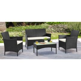 Комплект кофейный (стол, 2 кресла и диван) «Patio» ECODESIGN