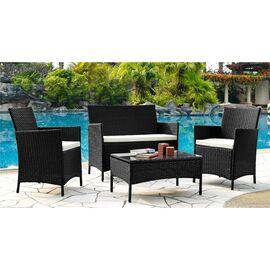 Комплект кофейный (стол, 2 кресла и диван) «Patio» ECODESIGN, изображение 2