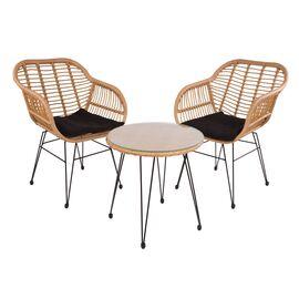 Комплект кофейный (стол и 2 кресла) «Patio» ECODESIGN