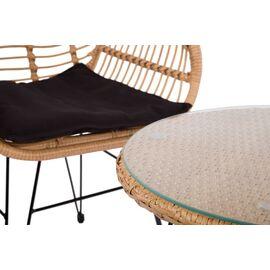 Комплект кофейный (стол и 2 кресла) «Patio» ECODESIGN, изображение 2