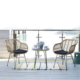 Комплект кофейный (стол и 2 кресла) «Patio» ECODESIGN, изображение 4