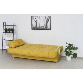 Диван Раскладной Двухместный Rivalli Милан 2040х1060х1090 Желтый, Цвет товара: Желтый, изображение 3