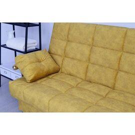 Диван Раскладной Двухместный Rivalli Милан 2040х1060х1090 Желтый, Цвет товара: Желтый, изображение 4