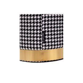 Комплект из 2-х пуфиков MY iNTERNO MY20A568 Черный, белый матовый, золото, изображение 2