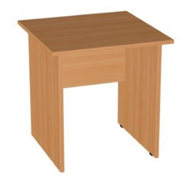 Стол прямой письменный Эдем E-30.0 700х700х750