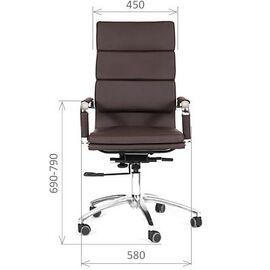 Компьютерное кресло для руководителя Chairman 750 Бордо, Цвет товара: Бордо, изображение 2