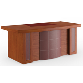 Стол для руководителя Bristol Pointex ABRT19410001 Орех 1940x930x780