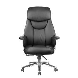 Компьютерное кресло для руководителя Riva Chair 9501 Натуральная кожа Черный, Цвет товара: Черный, изображение 2