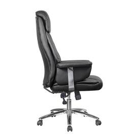 Компьютерное кресло для руководителя Riva Chair 9501 Натуральная кожа Черный, Цвет товара: Черный, изображение 3