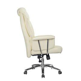 Офисное кресло Riva Chair 9502 Натуральная кожа Кремовый, Цвет товара: кремовый, изображение 3