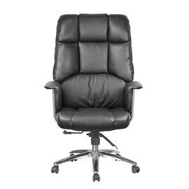 Компьютерное кресло Riva Chair 9502 Черная кожа, Цвет товара: Черный, изображение 2