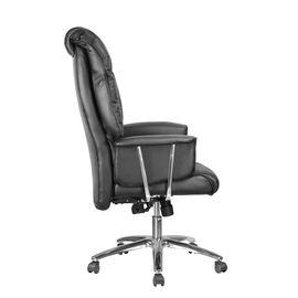 Компьютерное кресло Riva Chair 9502 Черная кожа, Цвет товара: Черный, изображение 3