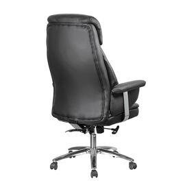 Компьютерное кресло Riva Chair 9502 Черная кожа, Цвет товара: Черный, изображение 4