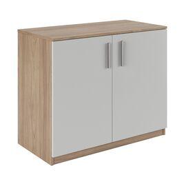 Шкаф низкий широкий ASTI AST33941221 900x450x733 Вяз/Белый, Цвет товара: Вяз/Белый