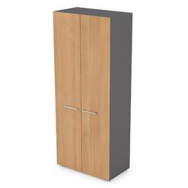 Шкаф для одежды Arredo ALSAV  10Ш.013/10ФК.001 Graphit matt 800х434х1946