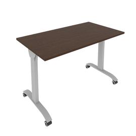 Стол прямой письменный складной мобильный Mobile System Riva СМ-3 Венге 1200*650*757, Цвет товара: Венге
