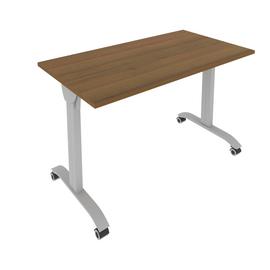 Стол прямой письменный складной мобильный Mobile System Riva СМ-3 Орех 1200*650*757, Цвет товара: Орех