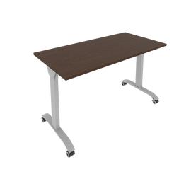 Стол прямой письменный складной мобильный Mobile System Riva СМ-4 Венге 1300*650*757, Цвет товара: Венге