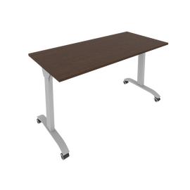 Стол прямой письменный складной мобильный Mobile System Riva СМ-5 Венге 1400*650*757, Цвет товара: Венге