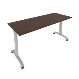Стол прямой письменный складной мобильный Mobile System Riva СМ-6 Венге 1600*650*757, Цвет товара: Венге