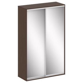 Шкаф-купе с зеркальными дверьми RIVA MARIS SH.K2-1.2 1100*600*2000 Венге Цаво