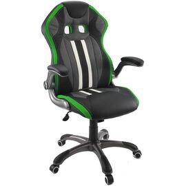 Кресло для геймеров Dikline KD37 Зеленый, Цвет товара: Чёрный / Зелёный