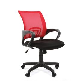 Компьютерное кресло Chairman CH 696 TW красный, Цвет товара: Красный