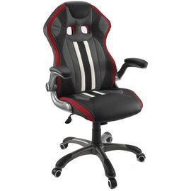 Кресло для геймеров Dikline KD37 Красный, Цвет товара: Чёрный / Красный