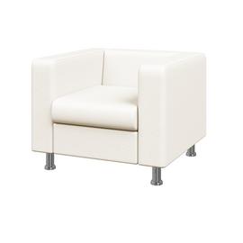 Кресло Алекто MVK ALE1 Экокожа  Ecotex 3002 белый  920х830х700, Цвет товара: Ecotex  3002 белый