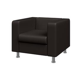 Кресло Алекто MVK ALE1 Экокожа Ecotex 3029 шоколад 920х830х700, Цвет товара: Ecotex  3029 шоколад