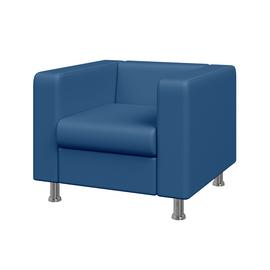 Кресло Алекто MVK ALE1 Экокожа Oregon 03 голубой 920х830х700, Цвет товара: Oregon 03