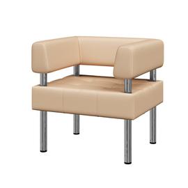 Кресло Бизнес MVK Bu1-2  Ecotex 3028 бежевый 770х620х770, Цвет товара: Ecotex 3028 бежевый