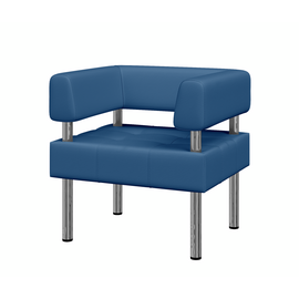 Кресло Бизнес MVK Bu1-2 Oregon 03 голубой 770х620х770, Цвет товара: Oregon 03