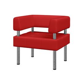 Кресло Бизнес MVK Bu1-2 Oregon 09 красный 770х620х770, Цвет товара: Oregon 09