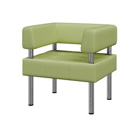 Кресло Бизнес MVK Bu1-2 Dollaro 583 фисташковый 770х620х770, Цвет товара: Dollaro 583