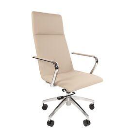 Компьютерное кресло для руководителя Chairman 980 бежевый, Цвет товара: Бежевый