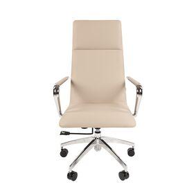 Компьютерное кресло для руководителя Chairman 980 бежевый, Цвет товара: Бежевый, изображение 2