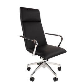 Компьютерное кресло для руководителя Chairman 980 черный, Цвет товара: Чёрный