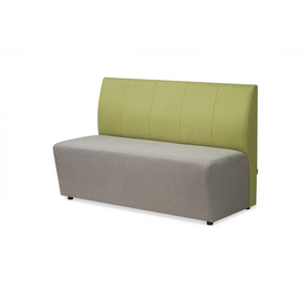 Диван трехместный Беллис MVK Bellis3 Рогожка Romeo 07/13 1500х700х960, Цвет для фильтра мебель: Серый/Зеленый, Цвет товара: Romeo 07+13