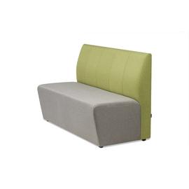 Диван трехместный Беллис MVK Bellis3 Рогожка Romeo 07/13 1500х700х960, Цвет для фильтра мебель: Серый/Зеленый, Цвет товара: Romeo 07+13, изображение 2