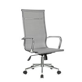 Компьютерное кресло для руководителя Riva Chair 6001-1SE сетчатое серое, Цвет товара: Серый